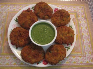 Mixed Vegetable Cutlets